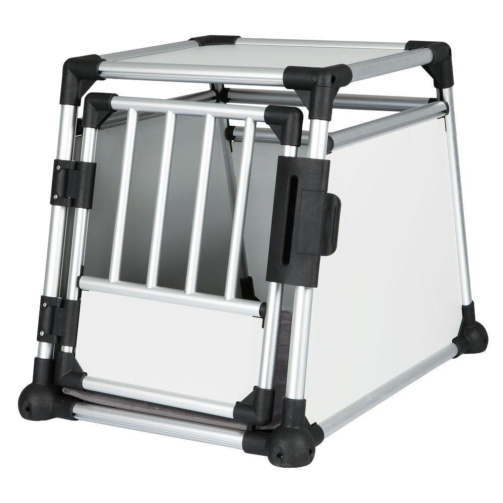21.5 in. L x 30.5 in. W x 24.25 in. H Medium Metallic Transport Crate
