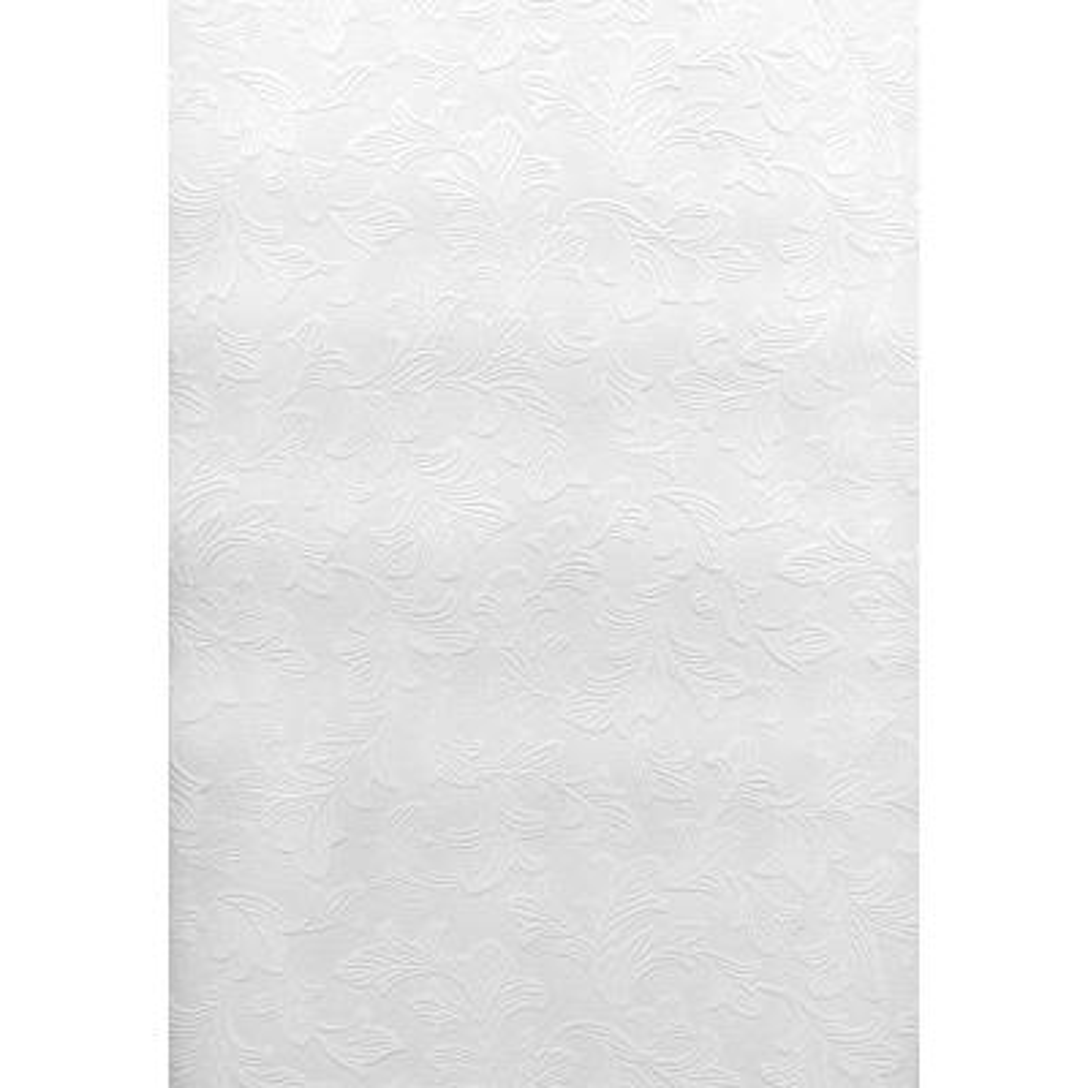 Paintable Mollis Leafy Texture Vinyl Peelable Wallpaper (Covers 56.4 sq. ft.)