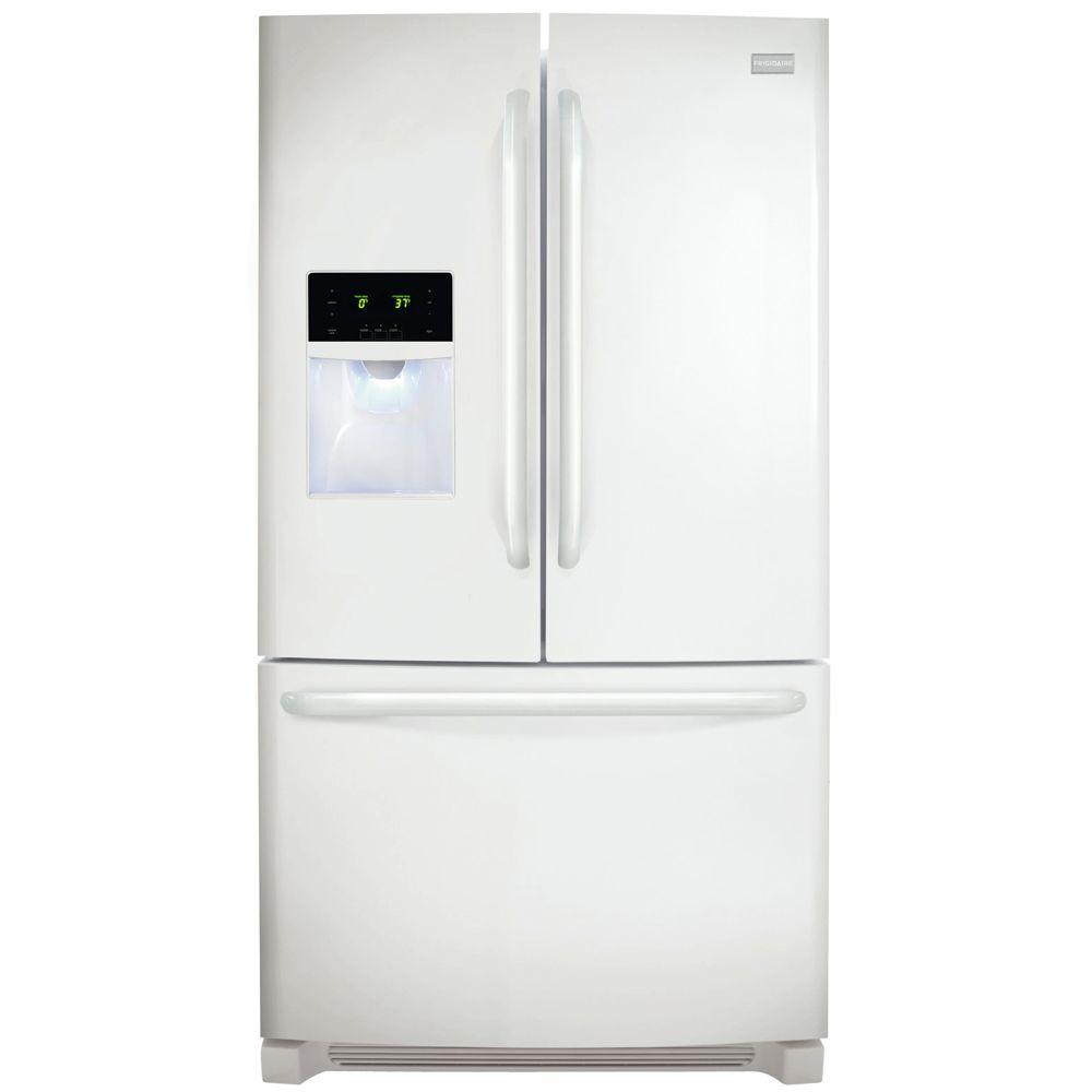 Frigidaire 27.19 cu. ft. French Door Refrigerator in Pearl