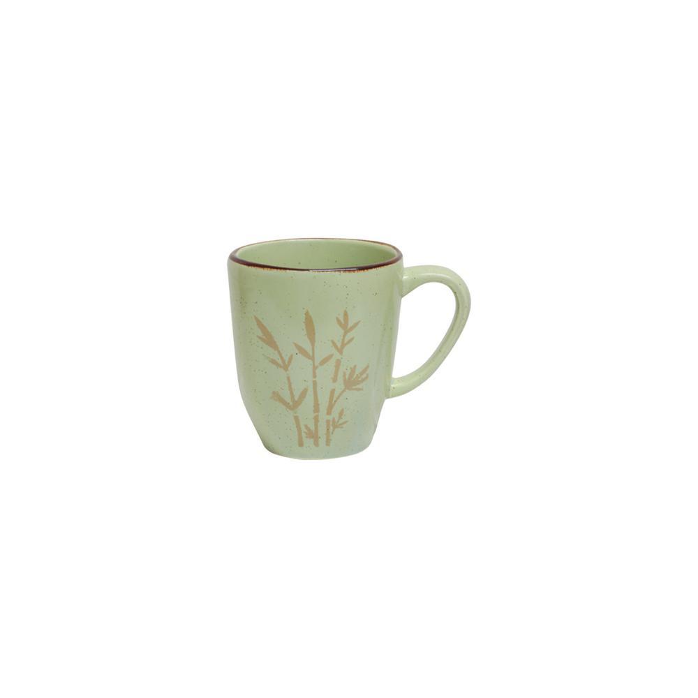 Manhattan Comfort RYO 14.20 oz. Green Porcelain Mugs (Set of 12) was $129.99 now $74.1 (43.0% off)
