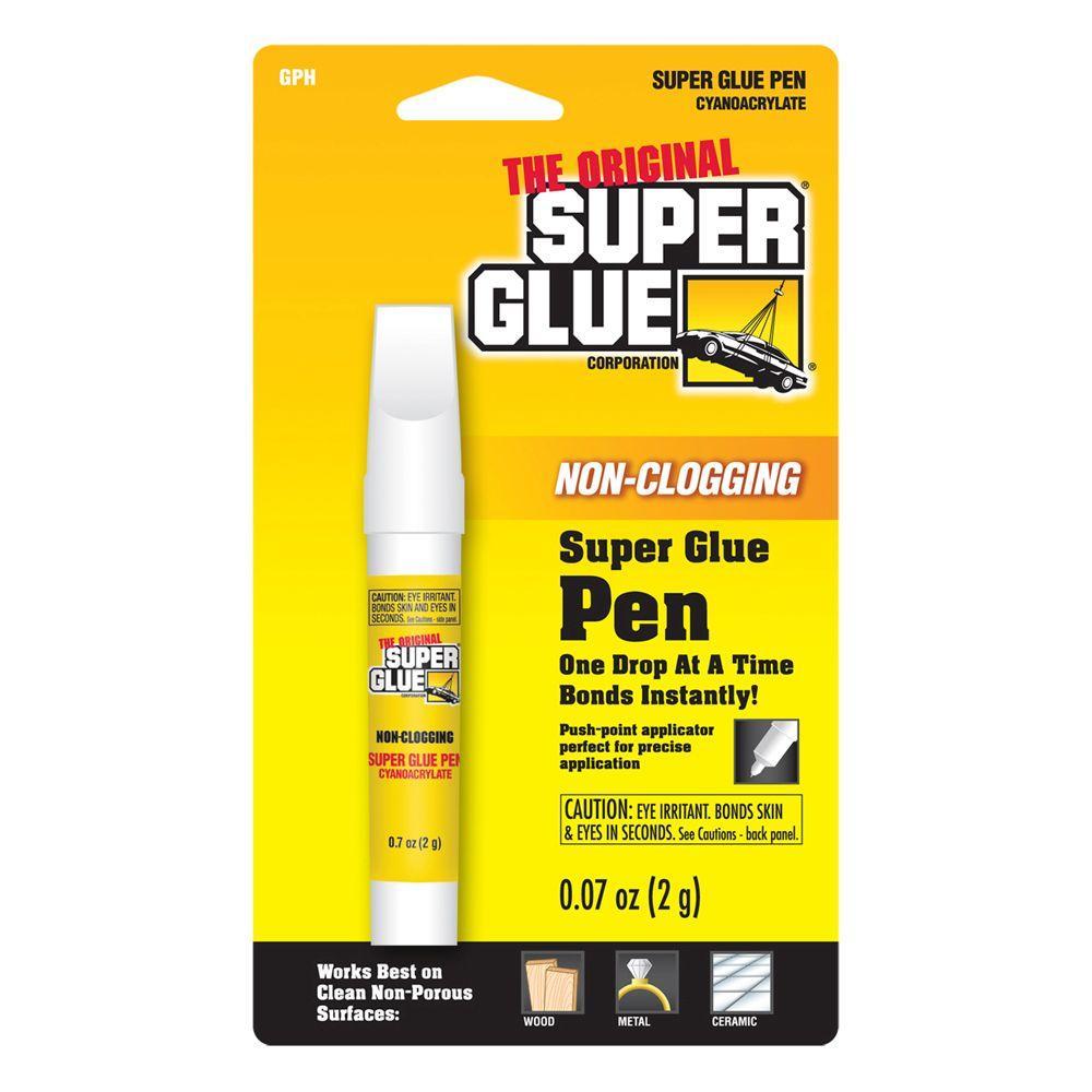 Super Glue 0.07 oz. Glue Pen Case (12-Pack)