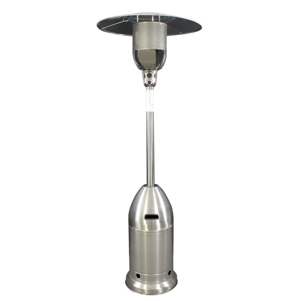 47,000 BTU Stainless Steel Rocket Base Gas Patio Heater