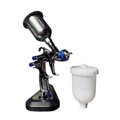 Mini HVLP Touch Up Spray Gun with Paint Tip Size 1.1