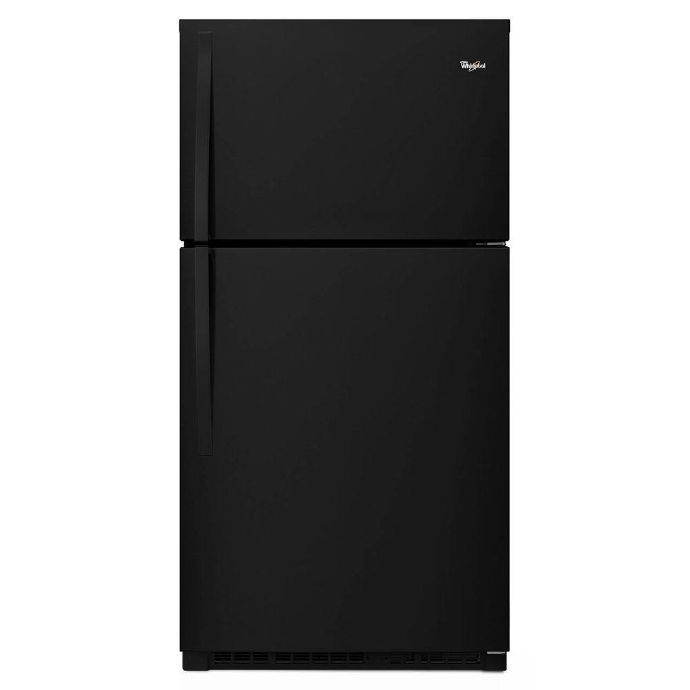 Whirlpool 33 in. W 21.3 cu. ft. Top Freezer Refrigerator ...