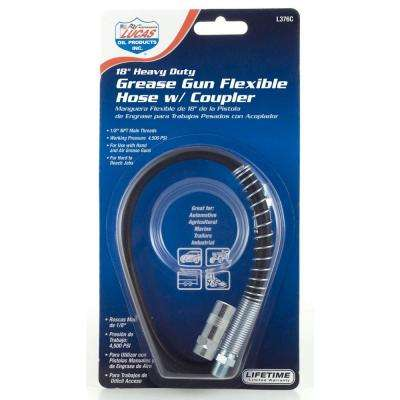 18 in. Heavy Duty Hose and Coupler