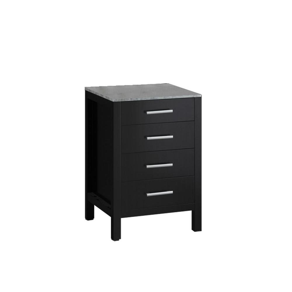 Design Element London Bath Vanity Vanity Top Cabinet Only Espresso Finish Product Picture