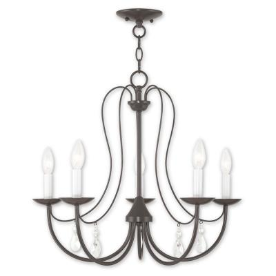 Mirabella 5-Light English Bronze Chandelier