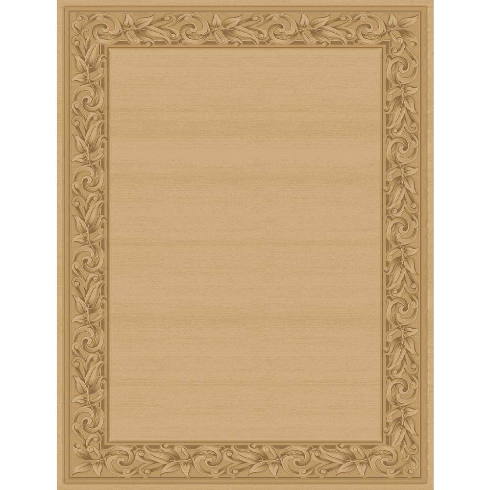 Balta US Elegant Embrace Cream 9 ft. 2 in. x 12 ft. 5 in. Area Rug