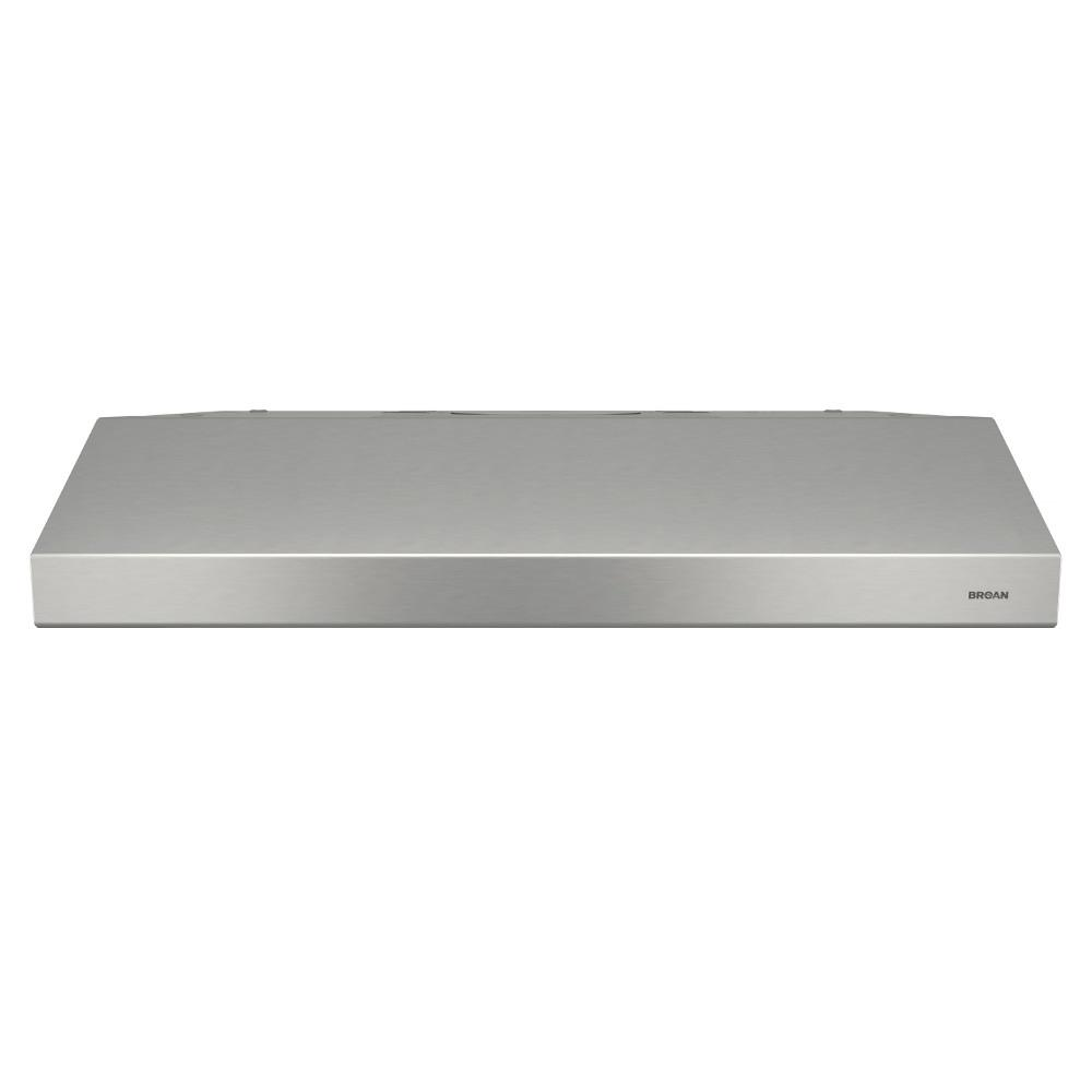 Broan Broan Sahale Deluxe 30 in. Convertible Under Cabinet Range Hood with Light in Stainless Steel, Silver