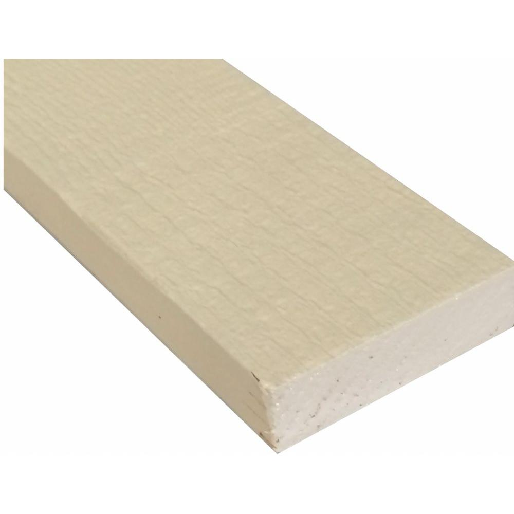 null S1S2E Primed Finger-Joint Trim Board (Common: 1 in. x 3 in. x 8 ft.; Actual: 0.625 in. x 2.37 in. x 96 in.)