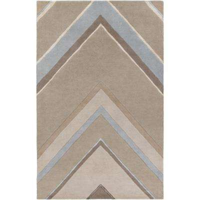 Dargaville Taupe 8 ft. x 11 ft. Indoor Area Rug