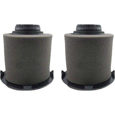 F16 HEPA Style Filters and Foams Replacement for Dirt Devil Part 1-JW1100-000, 2-JW1000-000 (2-Pack)