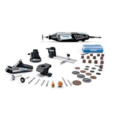 4000 Series 1.6 Amp Variable Speed Corded Rotary Tool Kit with 36 Accessories, 4 Attachments and Carrying Case