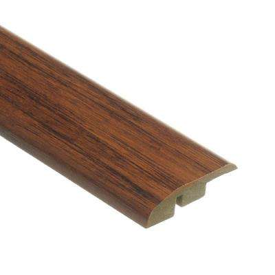 Distressed Brown Hickory 1/2 in. Thick x 1-3/4 in. Wide x 72 in. Length Laminate Multi-Purpose Reducer Molding