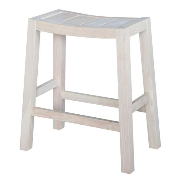 Ranch 24 In Unfinished Bar Stool S 924