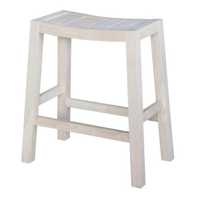 Ranch 24 in. Unfinished Bar Stool