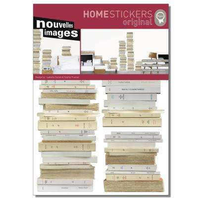 Multicolor Books Home Sticker
