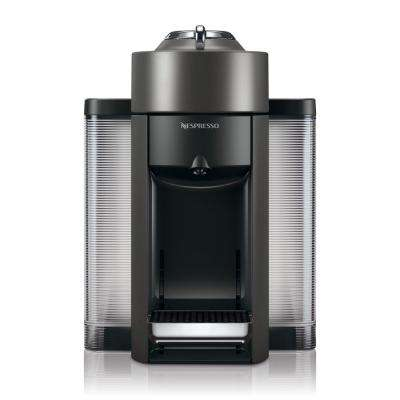 Vertuo Single Serve Coffee and Espresso Machine by De'Longhi in Graphite Metal