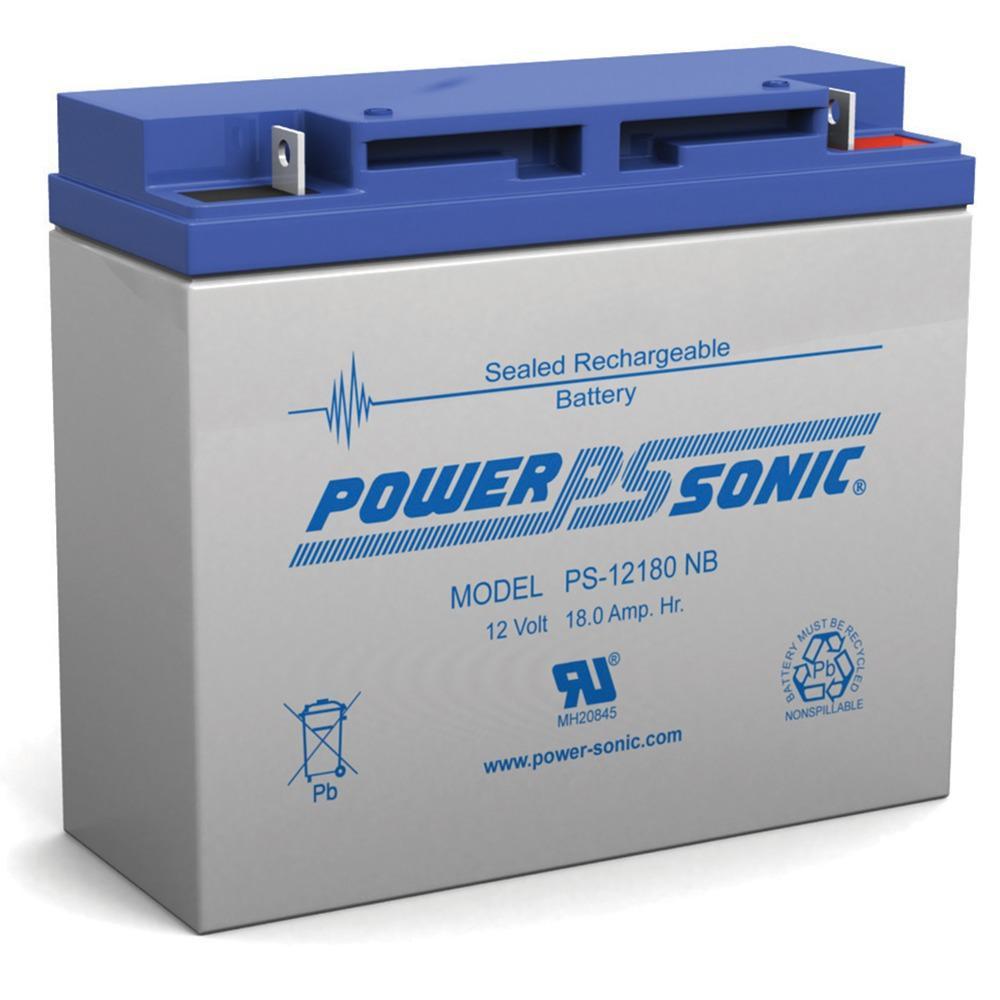 12-Volt 18 Ah Nut and Bolt Terminal Sealed Lead Acid (SLA) Rechargeable Battery