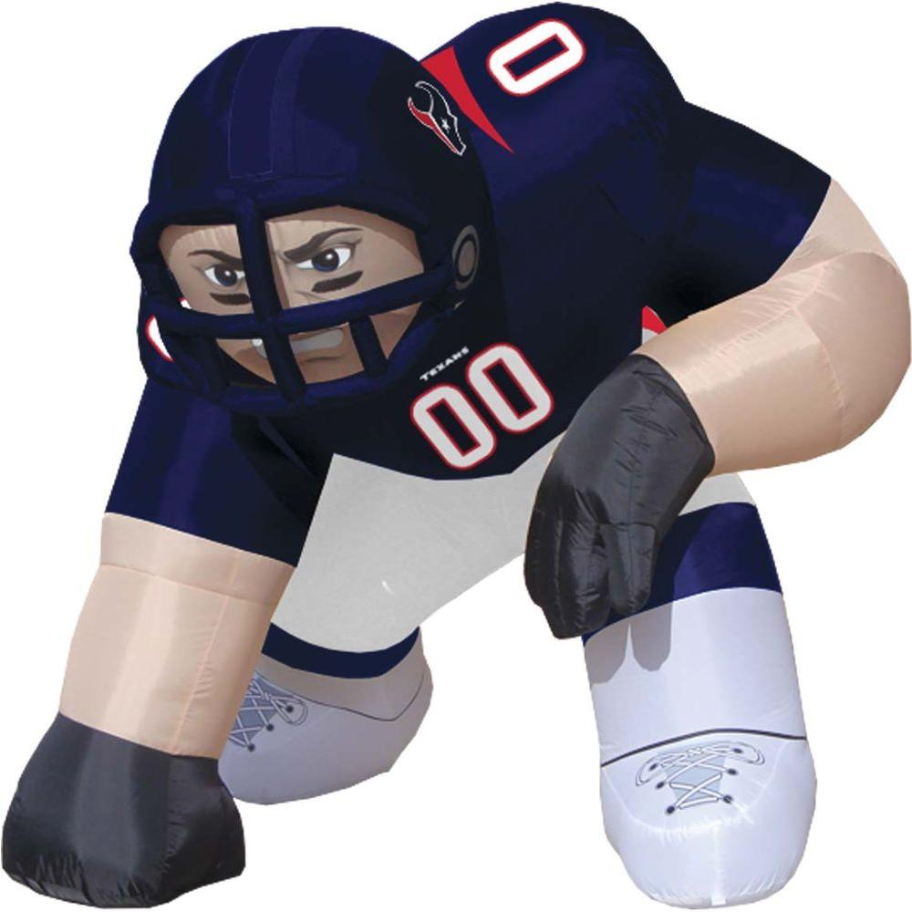 null 5 ft. Inflatable NFL Houston Texans Player Bubba-DISCONTINUED
