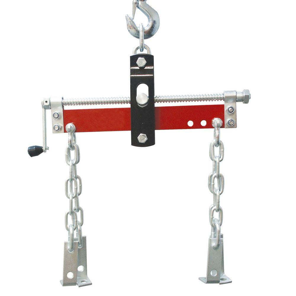 Engine leveler 3 4 ton lift hoist attachment load swivel for 1 4 ton chain motor