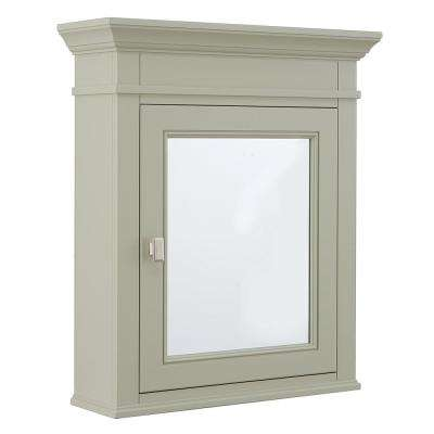 H Surface Mount Mirrored Medicine Cabinet In
