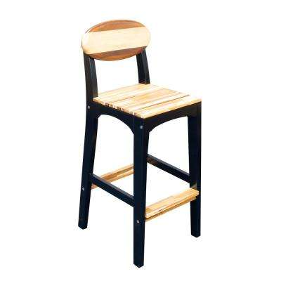 Woody Surf Co. Outdoor Wood Patio Bar Stool