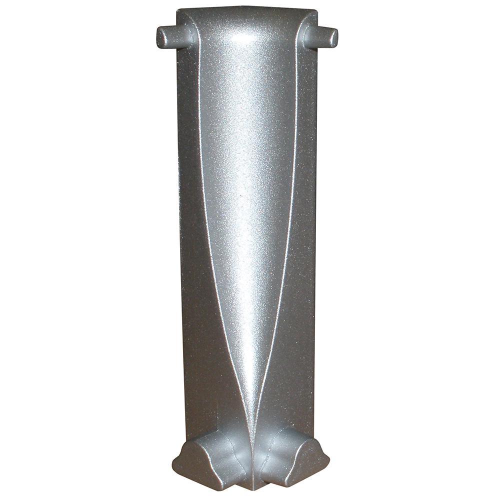 Internal Angle Novorodapie 2-3/4 in. x 9/16 in. Complement Aluminum Tile Edging Trim