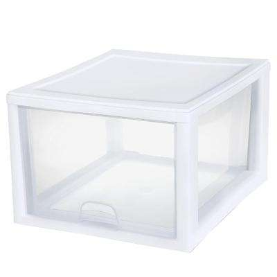 27-Qt. Stacking Drawer (4-Pack)