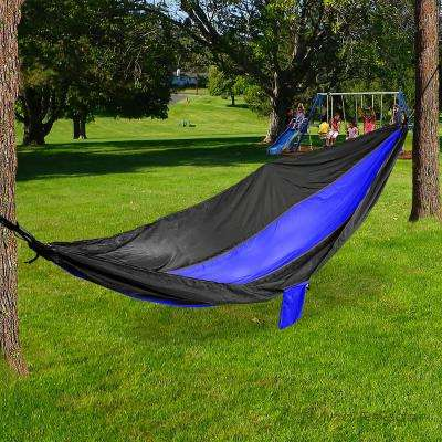 9 ft. Portable Nylon Hammock with Iron Carabiner