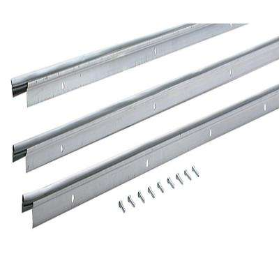 72 in. x 84 in. Flat Profile Door Jamb Mill Weatherstrip Kit