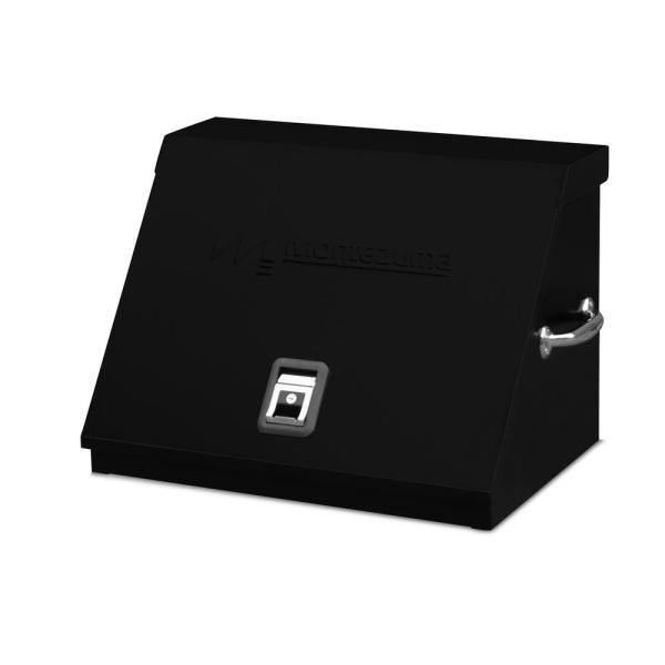 26 in. 0-Drawers Portable Tool Box in Black Powder Coated
