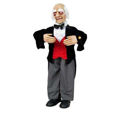 36 in. Animated Butler