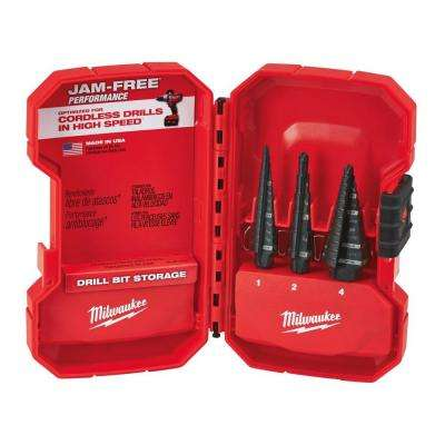 Step Drill Bit Kit (3-Piece)