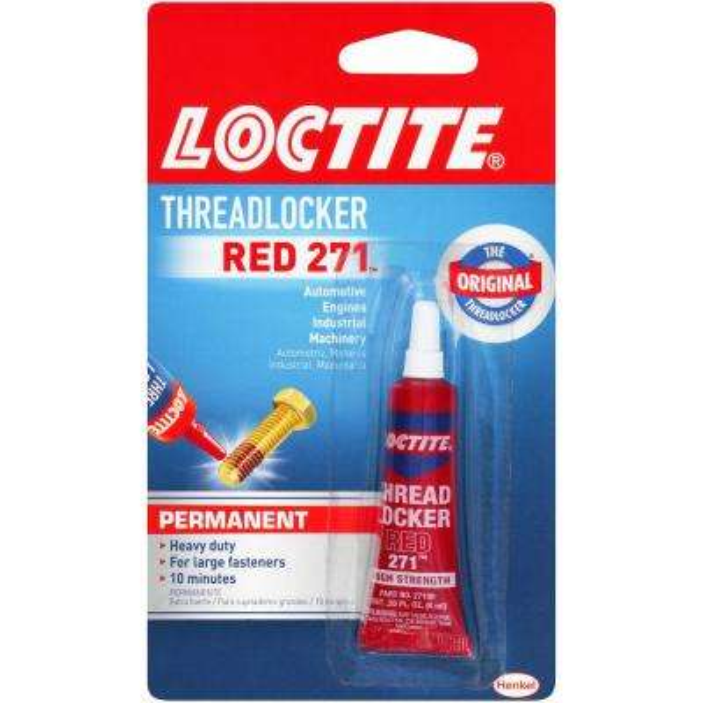 Threadlocker Red 271 0.20 fl. oz. Specialty Glue