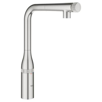 Essence Smartcontrol Single-Handle Pull-Out Sprayer Kitchen Faucet in SuperSteel InfinityFinish