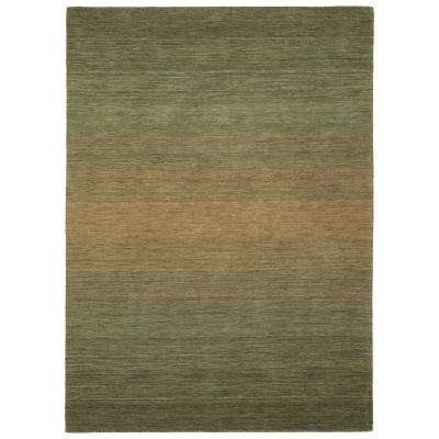Shades Green 10 ft. x 13 ft. Area Rug
