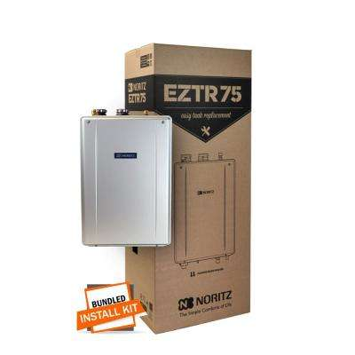 75 Gal. Tank Replacement-Natural Gas Hi-Efficiency Indoor Tankless Water Heater with 12-Year Warranty and Wi-Fi