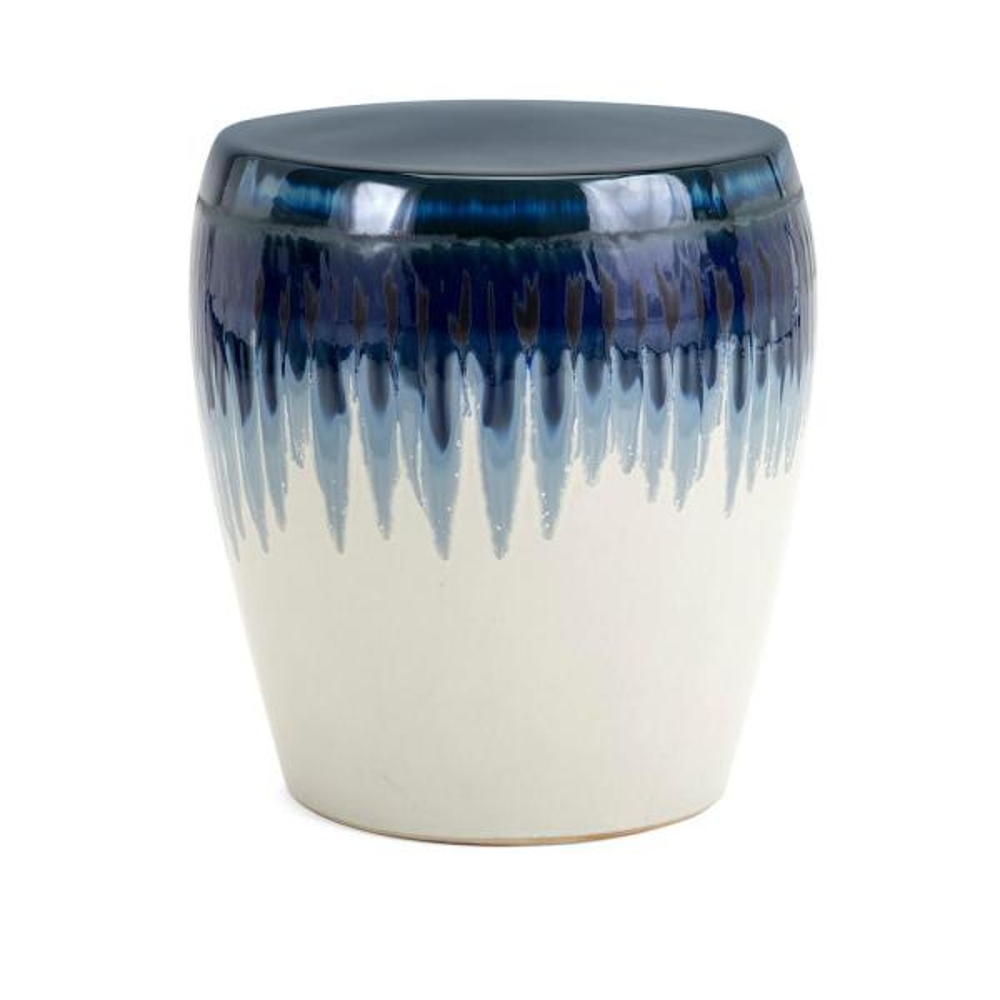 Safavieh Jade Swirl White Black Marble Ceramic Garden