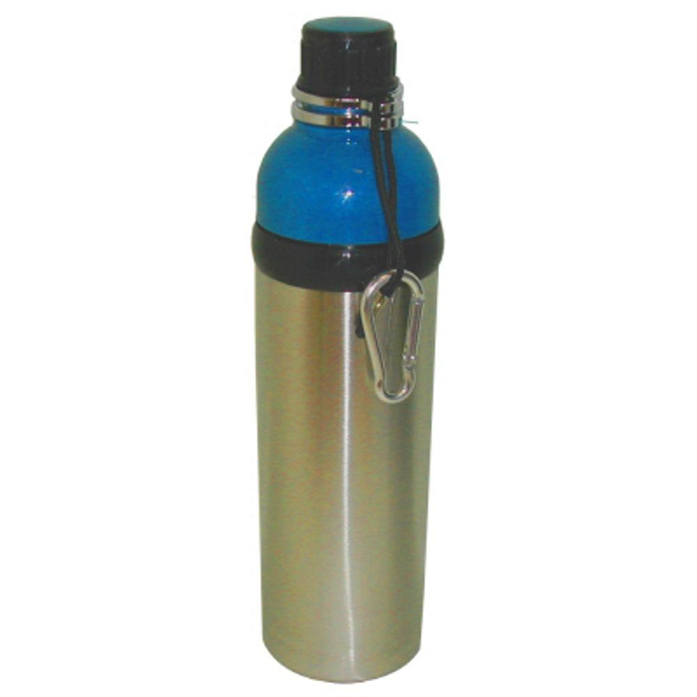 24 oz. Stainless Steel Water Bottle in Blue