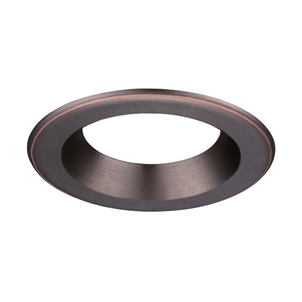 Envirolite 6 In Decorative Bronze Trim Ring For Led