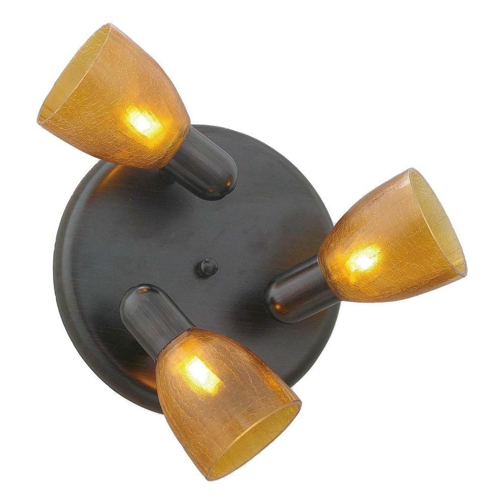 Benita 3-Light Oil-Rubbed Bronze Lighting Track