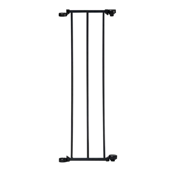 9 in. W x 29.5 in. Tall Extension for Auto Close Configure or Hearth Gate in Black
