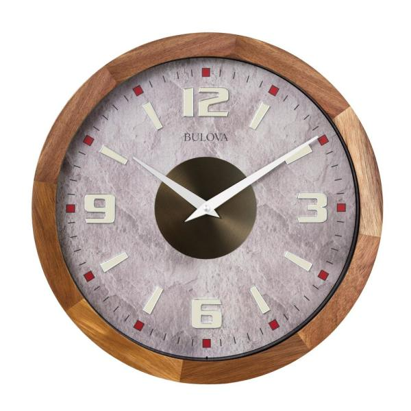 Indoor/Outdoor 16 in. Bold Gallery Clock with Bluetooth Technology