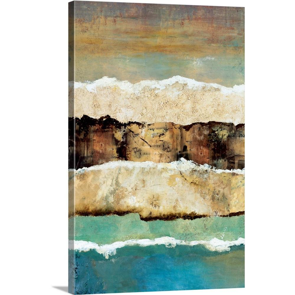 ''On the Edge I'' by Norm Olson Canvas Wall Art
