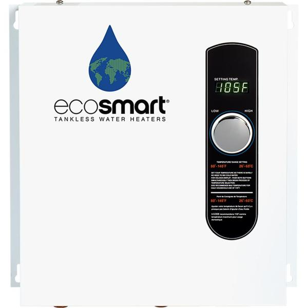 ECO 27 Tankless Electric Water Heater 27 kW 240 V