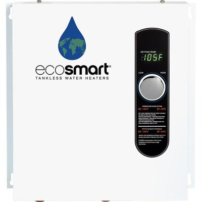 ECO 27 Tankless Electric Water Heater 27 kW 240 V with Inline Flow Restrictor