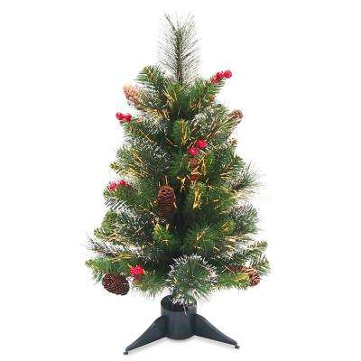 Fiber Optic Crestwood Spruce Tree - National Tree Company - Fiber Optic Christmas Trees - Artificial