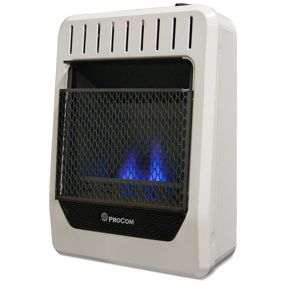Blue Flame Ventless Dual Fuel Heater