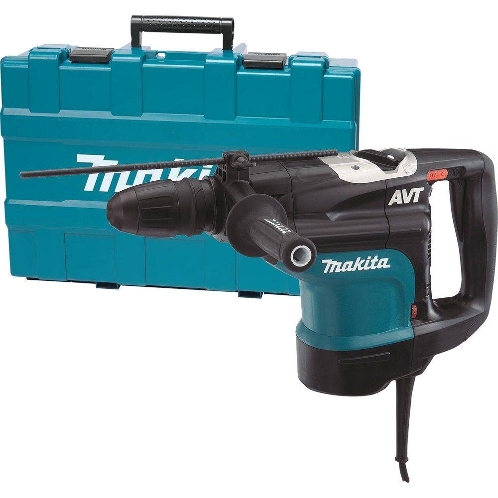 Makita 13.5 Amp 1-3/4 in. Corded SDS-MAX Concrete/Masonry AVT (Anti-Vibration Technology) Rotary Hammer Drill with Hard Case